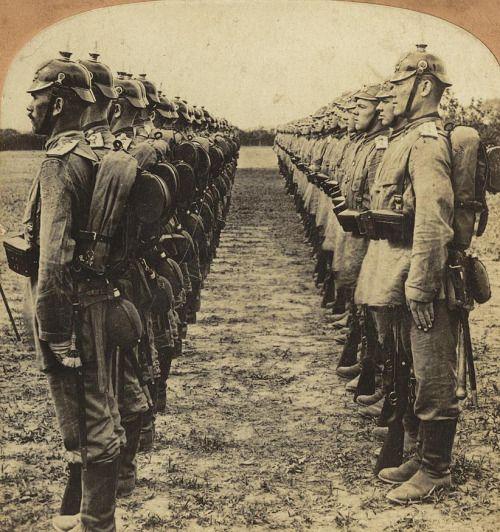 Soldatii germani, 1901